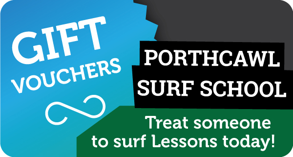 Gift Vouchers - Treat someone to surf lessons with Porthcawl Surf School