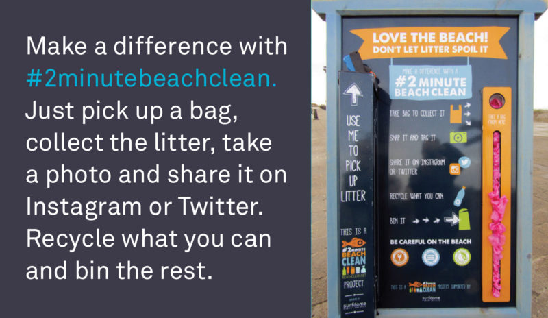 2 Minute Beach Clean