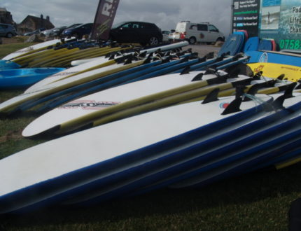 Soft Surfboards from 6ft to 8ft for hire