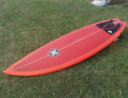 6ft 4in Twin Fin for hire