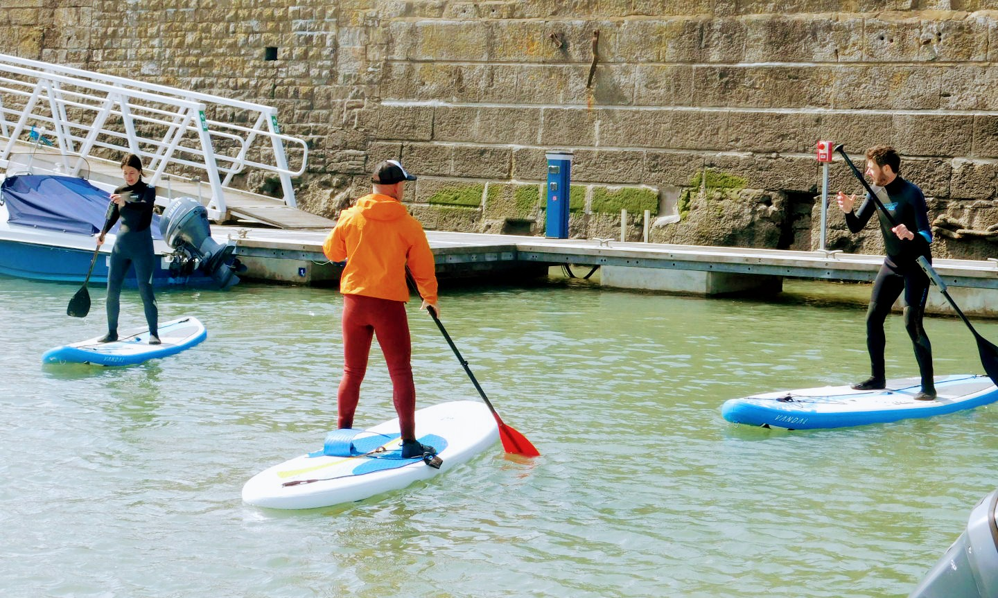 Stand Up Paddle Board Courses with Porthcawl Surf