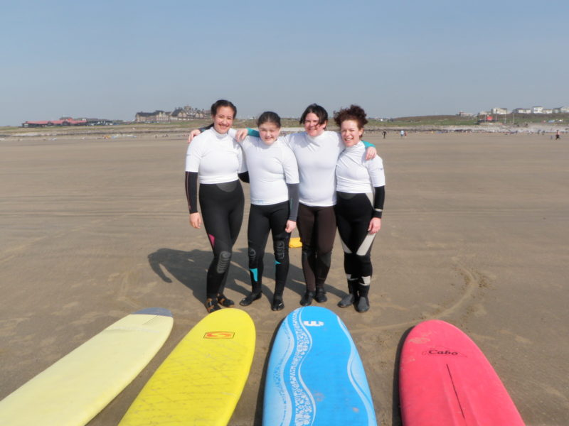 Surfing Hen Parties in South Wales