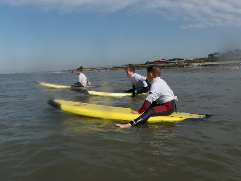 Surfing Lessons for Schools and Groups