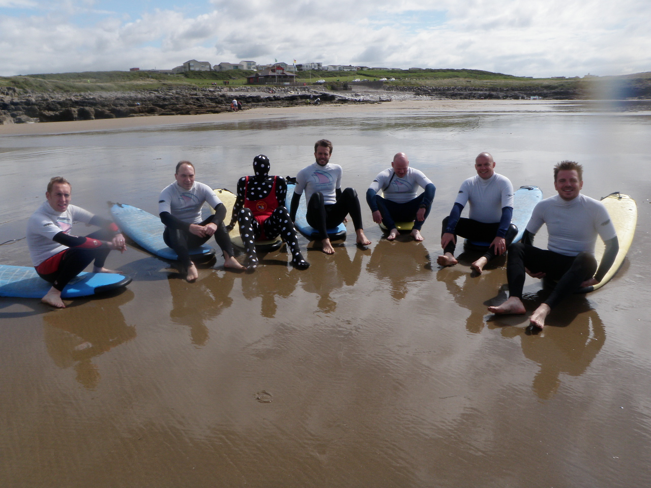 Surfing Stag Weekends in South Wales