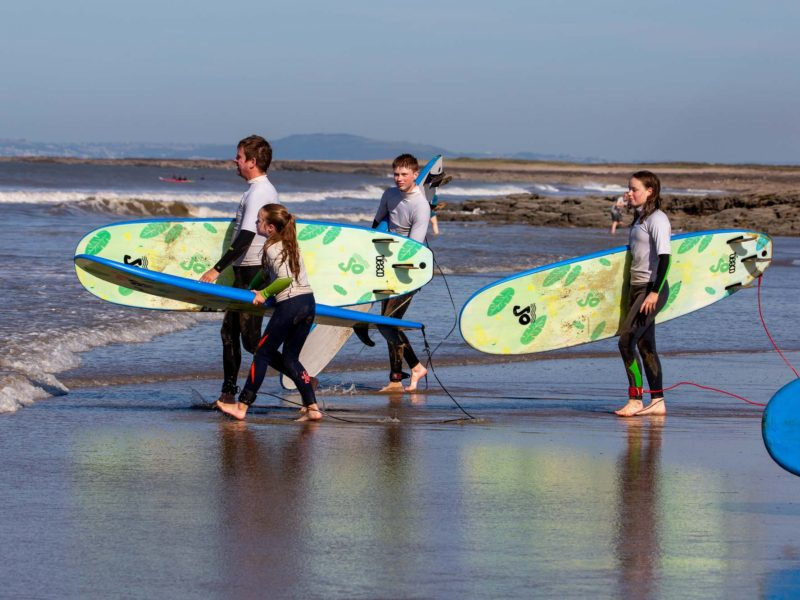 Family Surfing Weekends with Porthcawl Surf