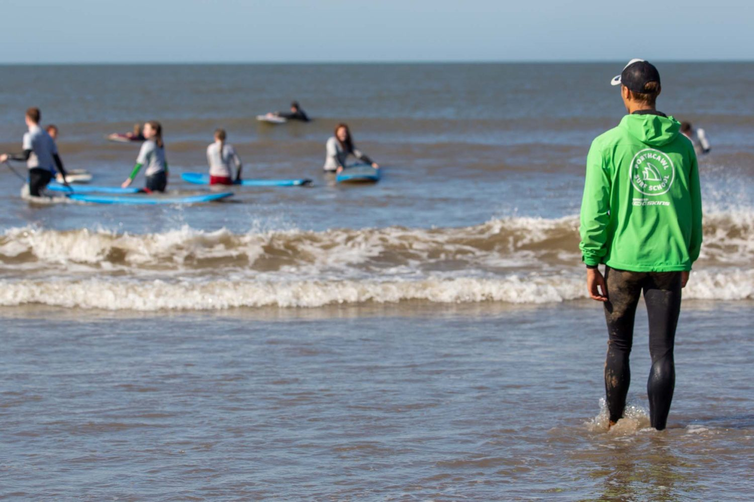 Surf Instructors at Porthcawl Surf