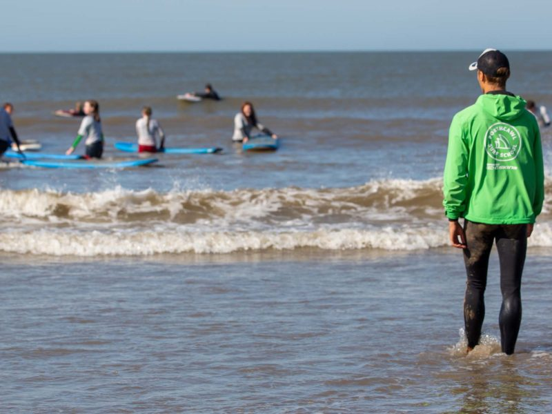 Surf Instructors at Porthcawl Surf