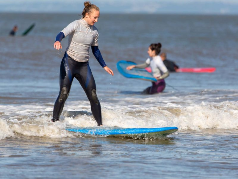 Women's Surf Weekends with Porthcawl Surf