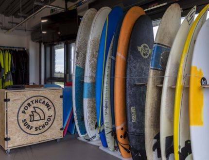 Surf board hire from Porthcawl Surf