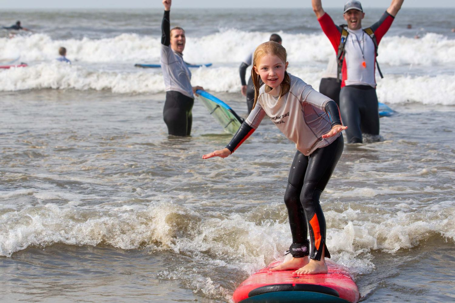 Kids Surf Lessons with Porthcawl Surf