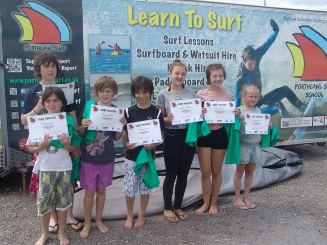 Kids Surf Maniax Course
