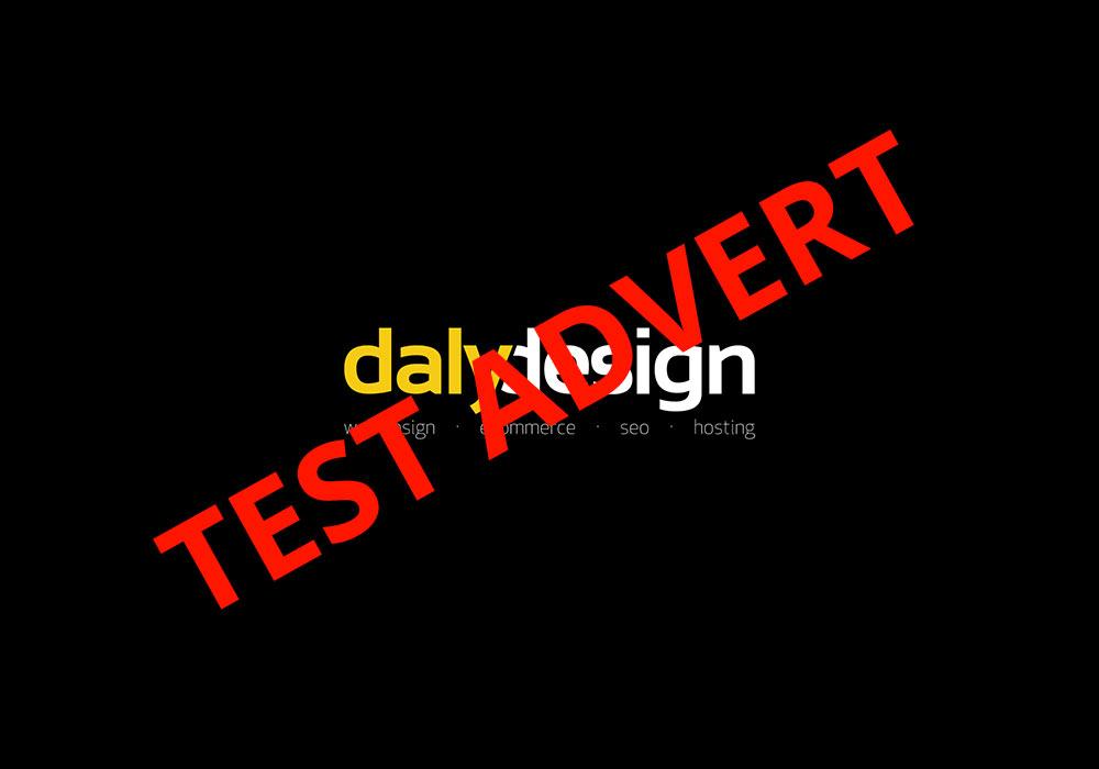 Test Advert