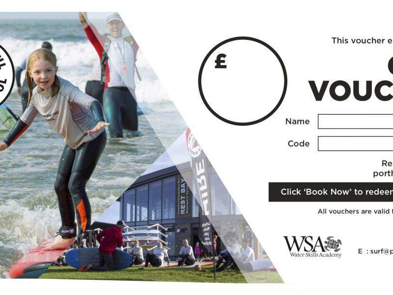 Porthcawl Surf Gift Voucher