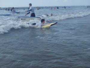 21 September Surf Lesson