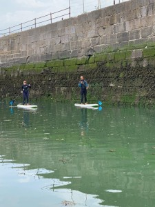 Stand Up Paddle Board Lessons with Porthcawl Surf